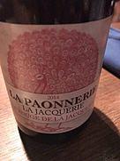 La Paonnerie La Jacquerie Le Rouge de la Jacquerie(2014)