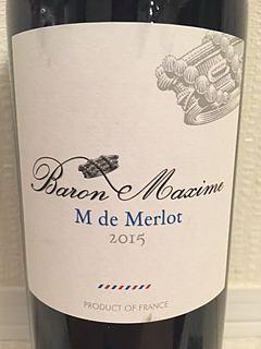 Baron Maxime Merlot Reserve