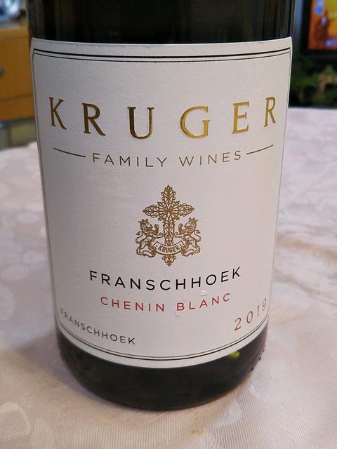 Kruger Family Wines Franschhoek Chenin Blanc(クルーガー・ファミリー・ワインズ フランシュフック シュナン・ブラン)