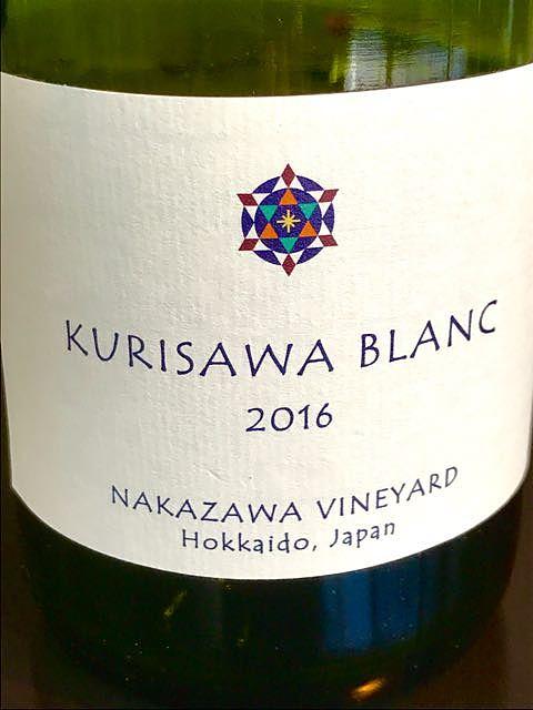 Nakazawa Vineyard Kurisawa Blanc