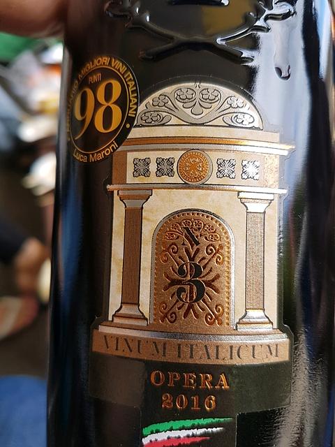 Tinazzi Opera N.3 Vinum Italicum(ティナッツィ オペラ)