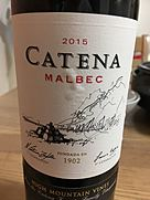 カテナ マルベック(2015)