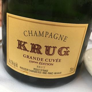 Krug Grande Cuvée Brut 159ème Edition