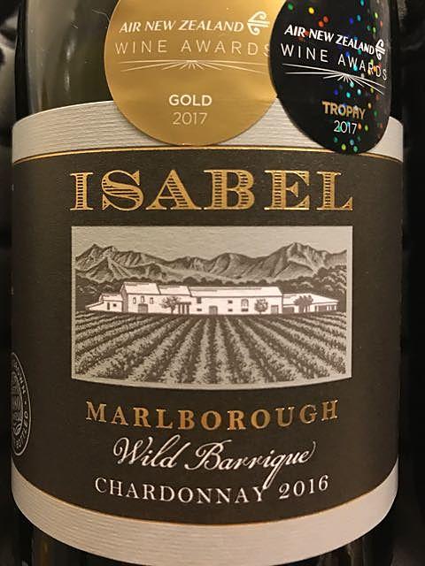 Isabel Marlborough Wild Barrique Chardonnay(イザベル マールボロ ワイルド・バリック シャルドネ)