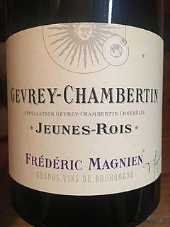 Frédéric Magnien Gevrey Chambertin Jeunes Rois