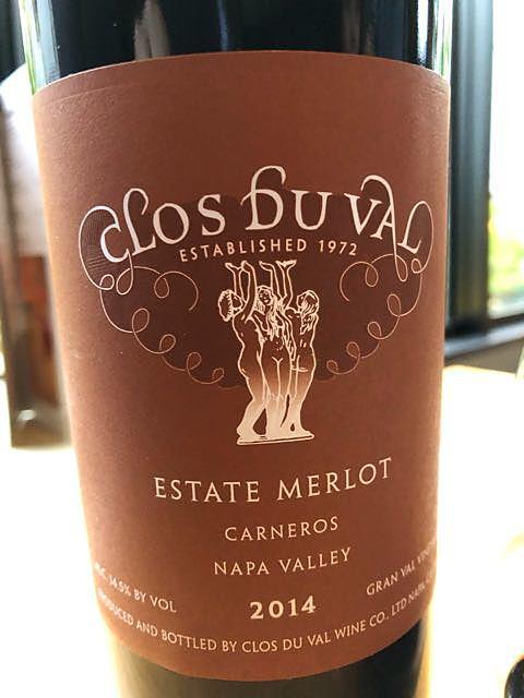 Clos Du Val Estate Merlot(クロ・デュ・ヴァル エステート メルロー)