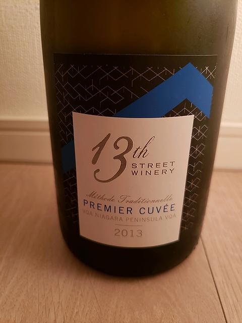 13th Street Winery Premier Cuvée 2013(サーティーンス・ストリート・ワイナリー プルミエール・キュヴェ)
