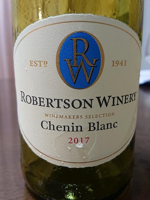 Robertson Winery Chenin Blanc(ロバートソン・ワイナリー シュナン・ブラン)