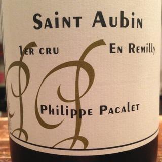 Philippe Pacalet Saint Aubin 1er Cru En Remilly