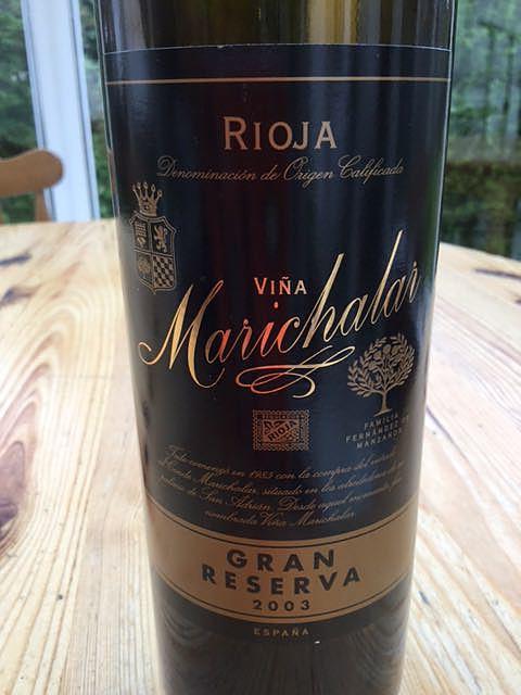 Viña Marichalar Gran Reserva(ヴィーニャ・マリチャラール グラン・レゼルヴァ)