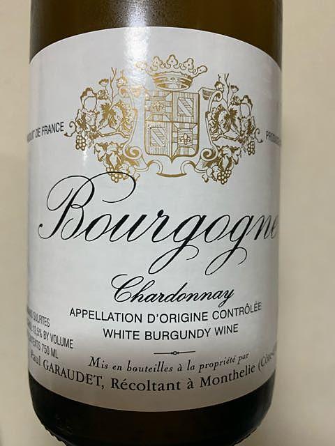 Paul Garaudet Bourgogne Chardonnay(ポール・ガローデ ブルゴーニュ シャルドネ)