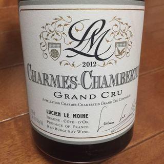 Lucien Le Moine Charmes Chambertin Grand Cru