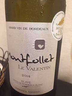 Ch. Montfollet Le Valentin Blanc