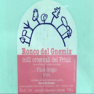 Ronco del Gnemiz Pinot Grigio