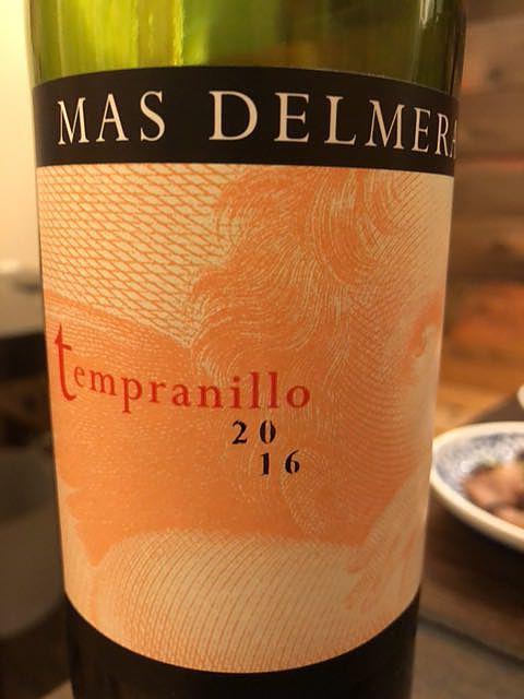 Mas Delmera Tempranillo