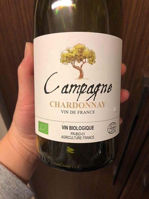 Campagne Chardonnay Bio(カンパーニュ シャルドネ ビオ)