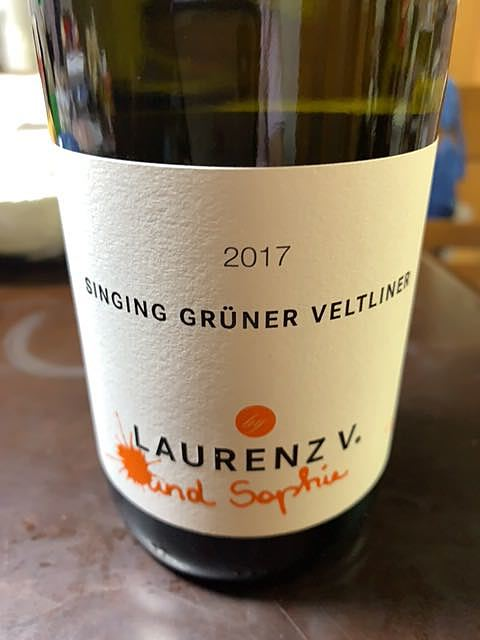 Laurenz V. Singing Grüner Veltliner(ローレンツ シンギング グリューナー・ヴェルトリーナー)