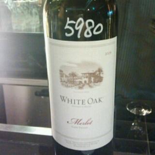 White Oak Napa Valley Merlot(ホワイト・オーク ナパ・ヴァレー メルロ)