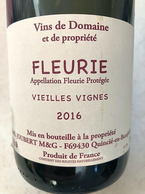 Dom. Joubert Fleurie Vieilles Vignes