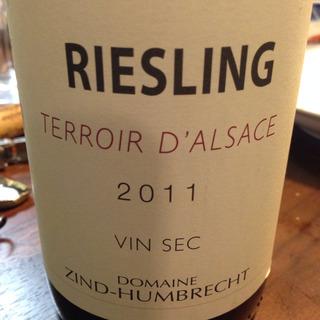 Dom. Zind Humbrecht Riesling Terroir d'Alsace