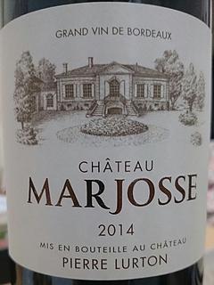 Ch. Marjosse Bordeaux Rouge