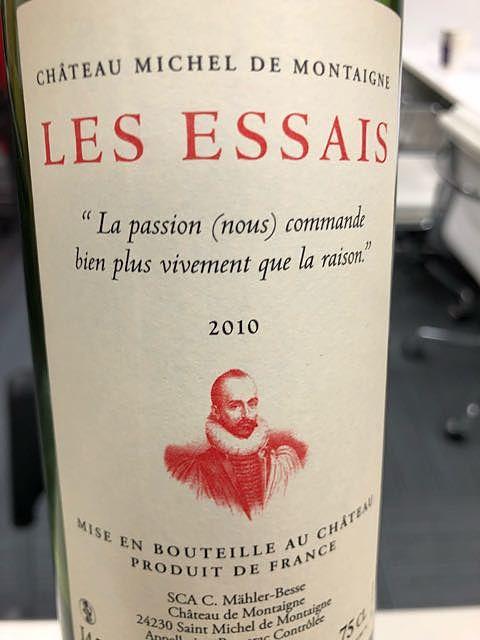 Ch. Michel de Montaigne Les Essais