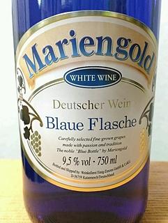 Mariengold Blaue Flasche