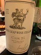 スタッグス・リープ・ワイン・セラーズ カスク カベルネ・ソーヴィニヨン(1998)