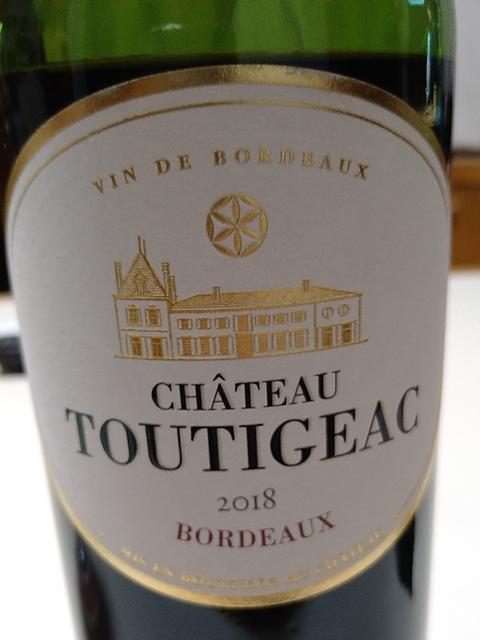 Ch. Toutigeac Bordeaux Rouge(シャトー・トゥティジャック ボルドー ルージュ)