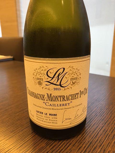 Lucien Le Moine Chassagne Montrachet 1er Cru Le Caillerets