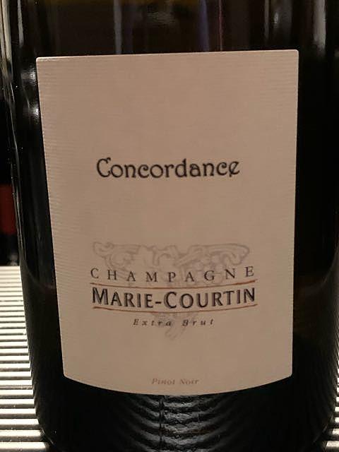 Marie Courtin Concordance Extra Brut(マリー・クルタン コンコルダンス エクストラ・ブリュット)