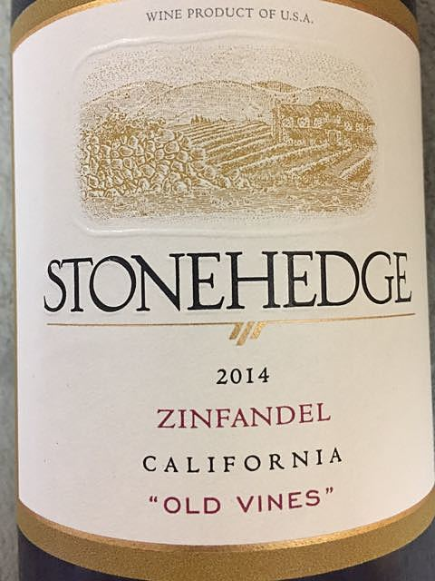 Stonehedge Zinfandel Old Vines