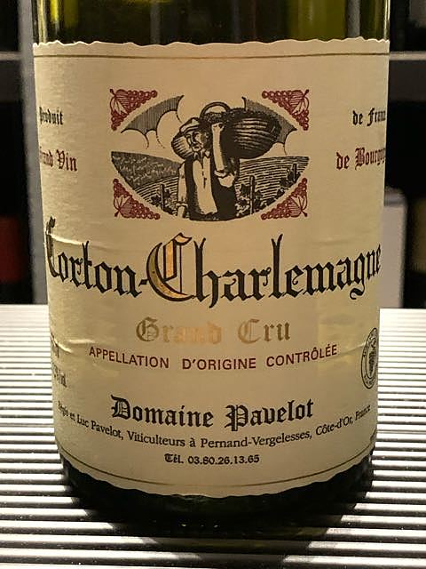 Dom. Pavelot Corton Charlemagne Grand Cru(ドメーヌ・パヴロ コルトン・シャルルマーニュ グラン・クリュ)