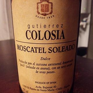 Gutiérrez Colosia Moscatel Soleado