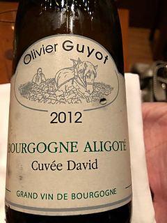 Olivier Guyot Bourgogne Aligoté Cuvée David
