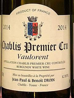Jean Paul & Benoit Droin Chablis 1er Cru Vaulorent