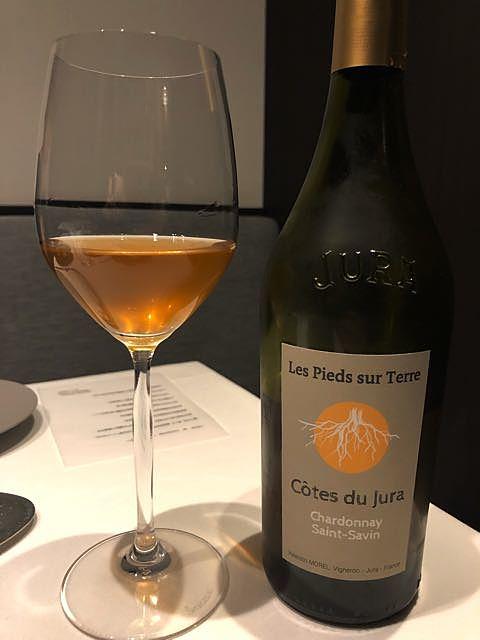 Valentin Morel Les Pieds Sur Terre Chardonnay Saint Savin