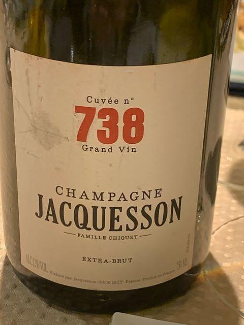 Jacquesson Cuvée 738(ジャクソン キュヴェ738)