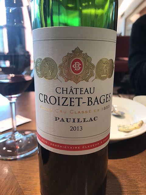 Ch. Croizet Bages(シャトー・クロワゼ・バージュ)
