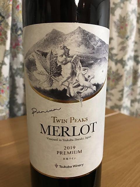 Tsukuba Winery Twin Peaks Merlot Premium(つくばワイナリー ツイン・ピークス メルロー プレミアム)