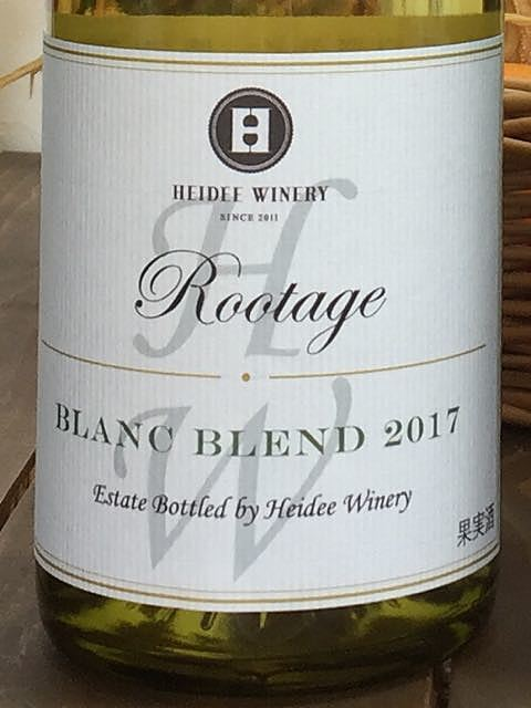 Heidee Winery Rootage Blanc Blend(ハイディ・ワイナリー ルーテージ ブラン・ブレンド)