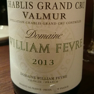 Dom. William Fèvre Chablis Grand Cru Valmur