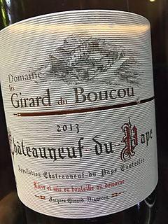Dom. Les Girard du Boucou Châteauneuf du Pape Blanc