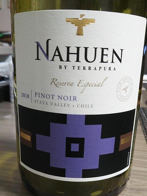 Nahuen by Terrapura Reserva Especial Pinot Noir(ナウエン・バイ・テラプラ レゼルヴァ・エスペシャル ピノ・ノワール)