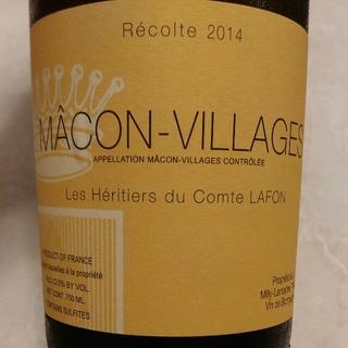 Les Héritiers du Comte Lafon Mâcon Villages(レ・ゼリティエール・デュ・コント・ラフォン マコン・ヴィラージュ)