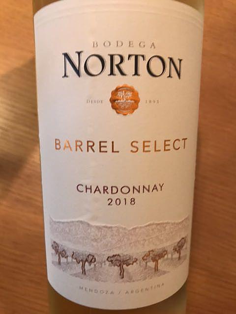 Norton Barrel Select Chardonnay