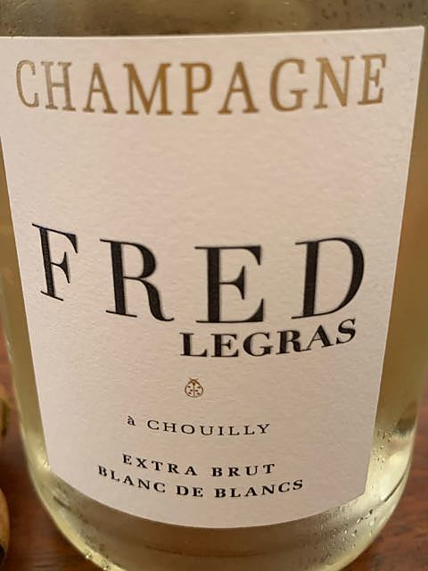 Fréd Legras Blanc de Blancs Extra Brut(フレッド・ルグラ ブラン・ド・ブラン エクストラ・ブリュット)