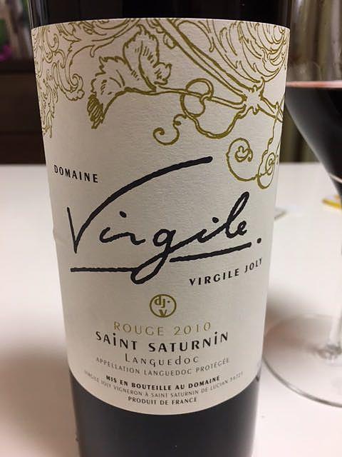 Dom. Virgile Joly Saint Saturnin Rouge(ドメーヌ・ヴィルジール・ジョリ サン・サチュルナン ルージュ)