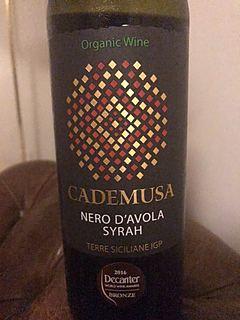 Cademusa Nero d'Avola Syrah