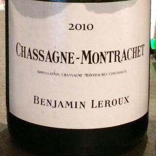 Benjamin Leroux Chassagne Montrachet Blanc